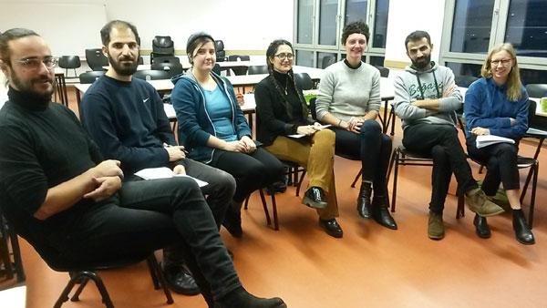 Foto: Das Team des Refugee Office der Alice Salomon Hochschule Berlin (ASH)